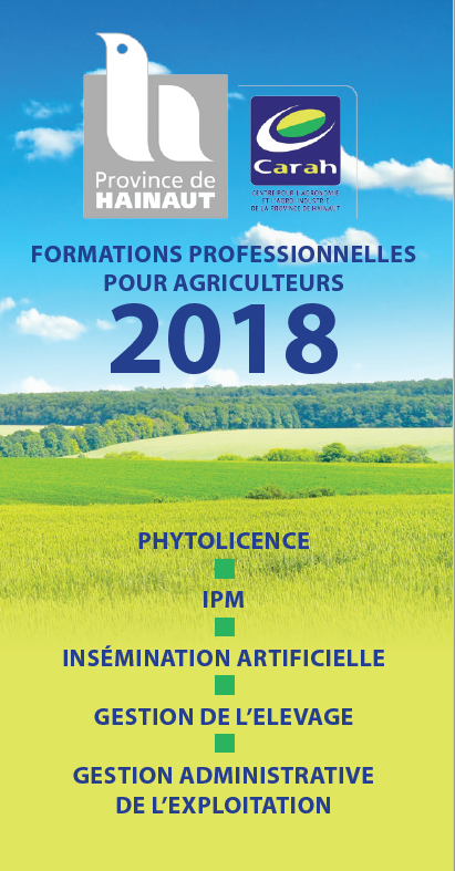 Formations professionnelles 2018